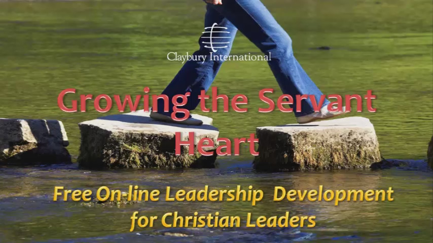 Christian Leadership Development - Growing the Servant Heart
